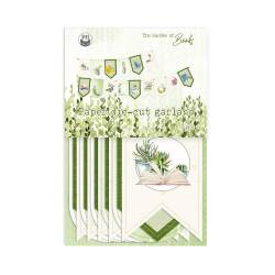 Banner / die cut  The Garden of Books, 15pcs