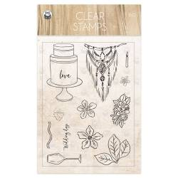Clear stamp seti Always and forever 01 A6, 13pcs