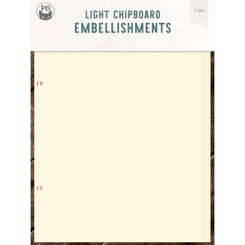 """Light chipboard album base Door - refill, 6x8"""""""