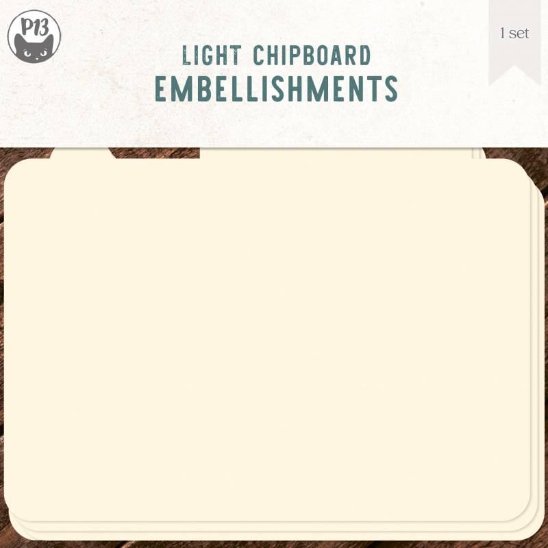 "Light chipboard album base Photo - refill, 6x6"""