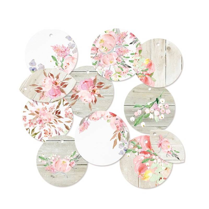 Decorative Tags Love in Bloom 01