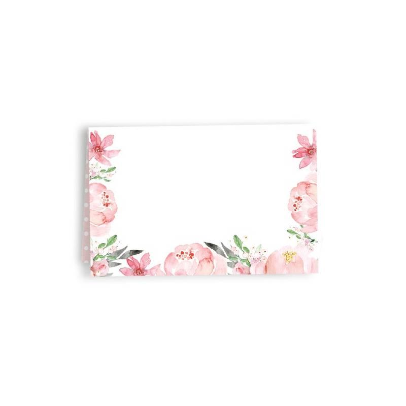 Zestaw wizytówek na stół Love in Bloom, 10szt.