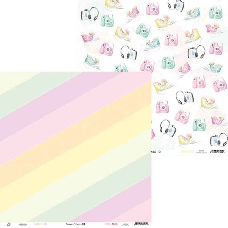 """Papier Summer vibes 04, 12x12"""""""
