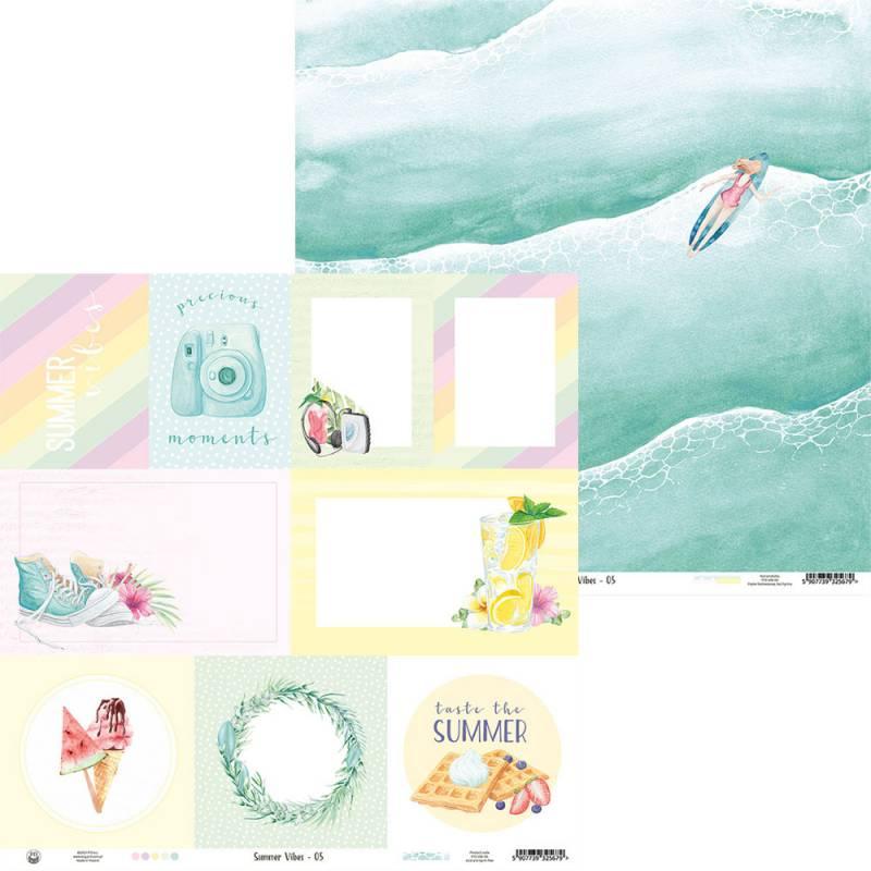"""Papier Summer vibes 05, 12x12"""""""