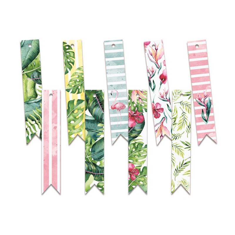 Zestaw tagów Let's flamingle 03
