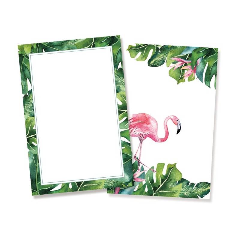 "Zestaw kart Let's flamingle, 6x4"""