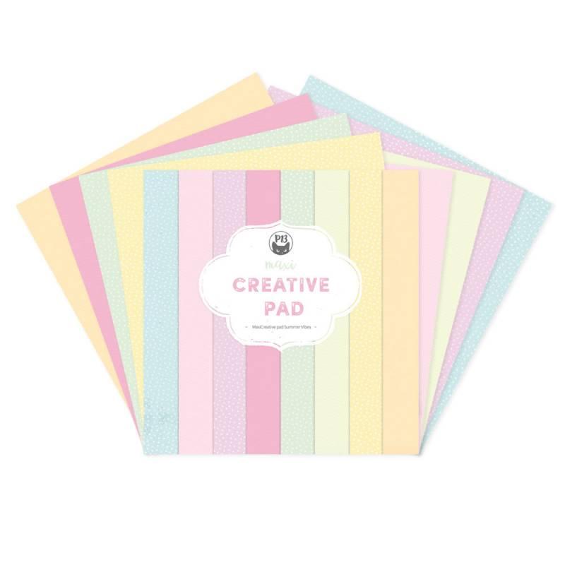 "Maxi Creative Pad Summer Vibes, 12x12"""