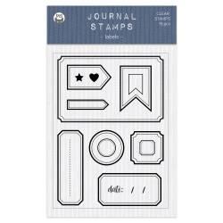 Clear stamp set Labels 01 A6, 15pcs