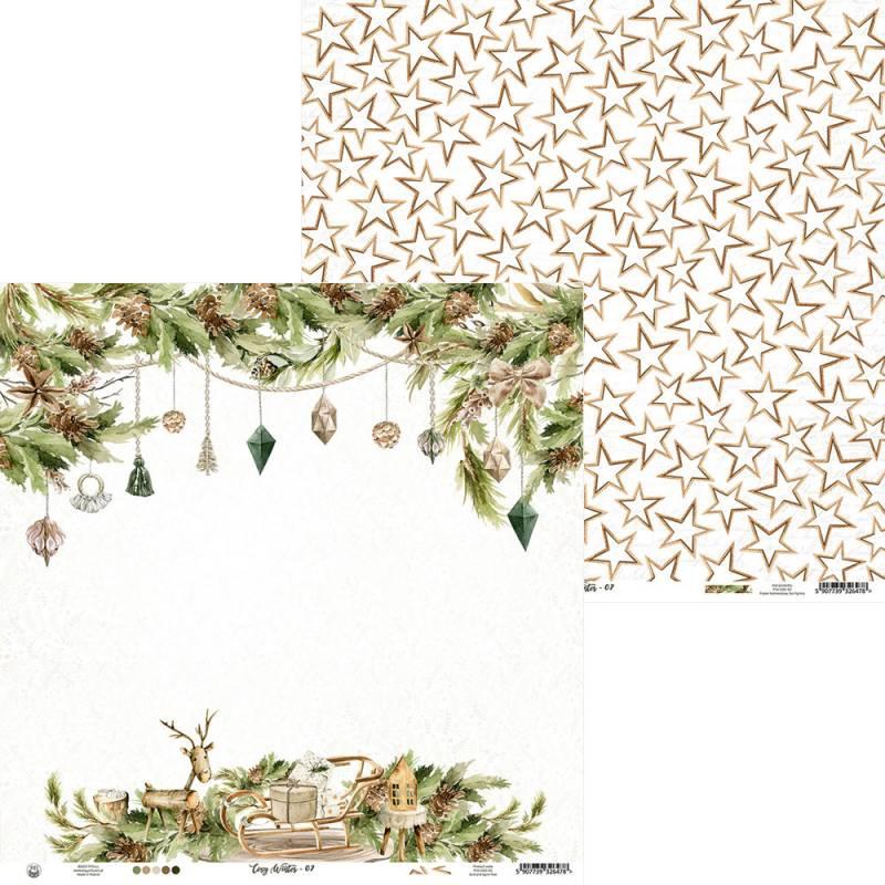 """Paper Cosy Winter 02, 12x12"""""""