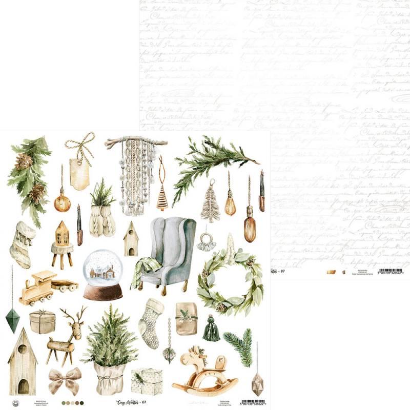"""Paper Cosy Winter 07, 12x12"""""""