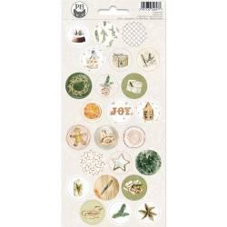 Sticker sheet Cosy Winter 03, 10,5 x 23 cm