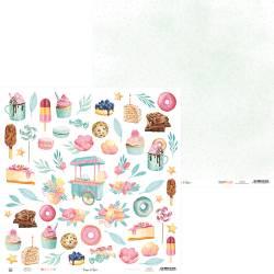 "Paper Sugar and Spice 07, 12x12"""