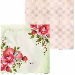 Papier Rosy Cosy Christmas 05, 12x12""