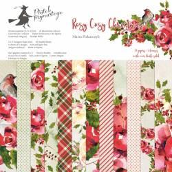 """Bloczek papierów Rosy Cosy Christmas, 12x12"""""""