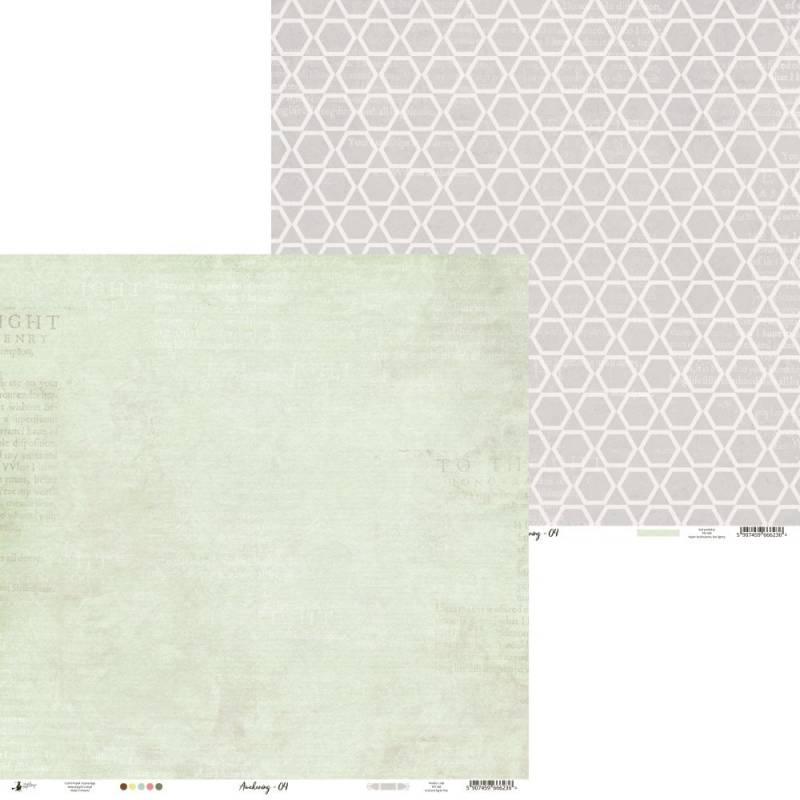"Paper Awakening 04, 12x12"""