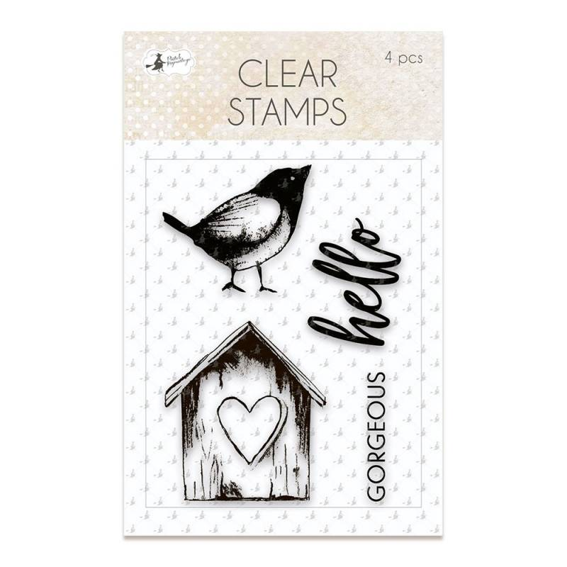 Clear stamp set Awakening 01, 4 pcs.