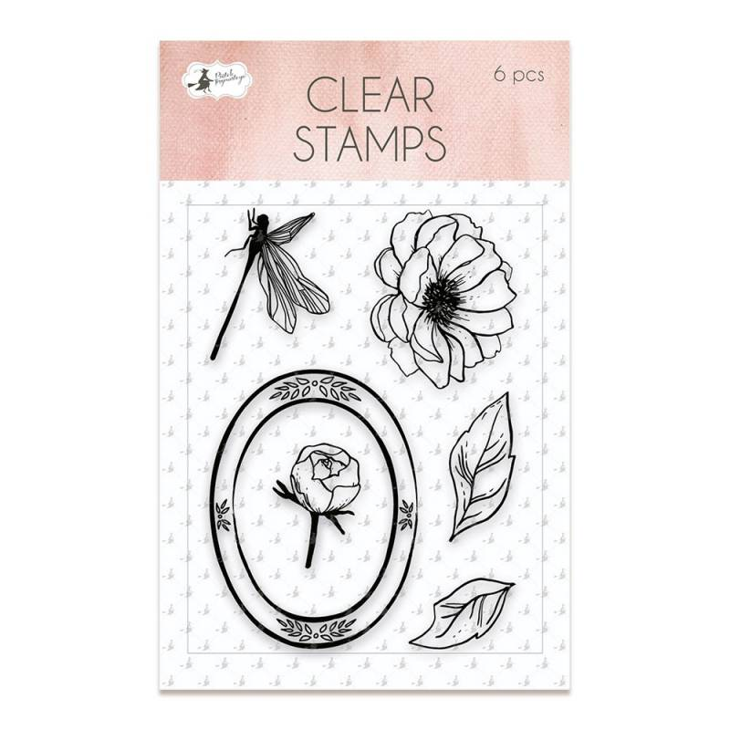 Clear stamp set Lucidity 01, 6 pcs.