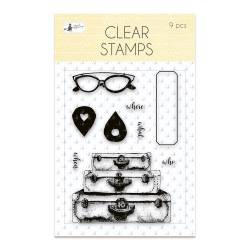 Clear stamp set Sunshine 01, 9 pcs.