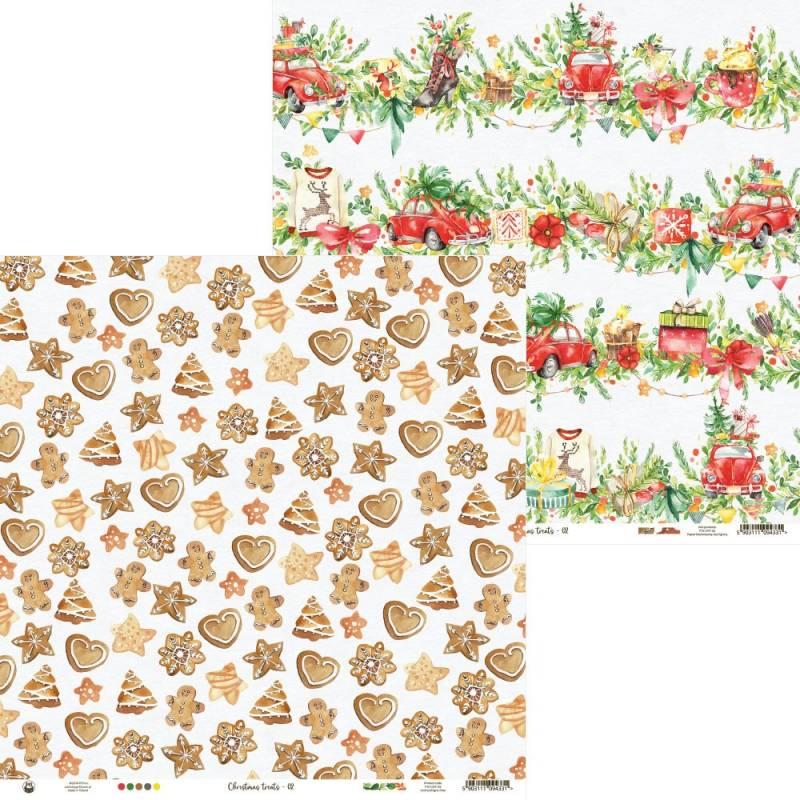"Paper Christmas treats 02, 12x12"""