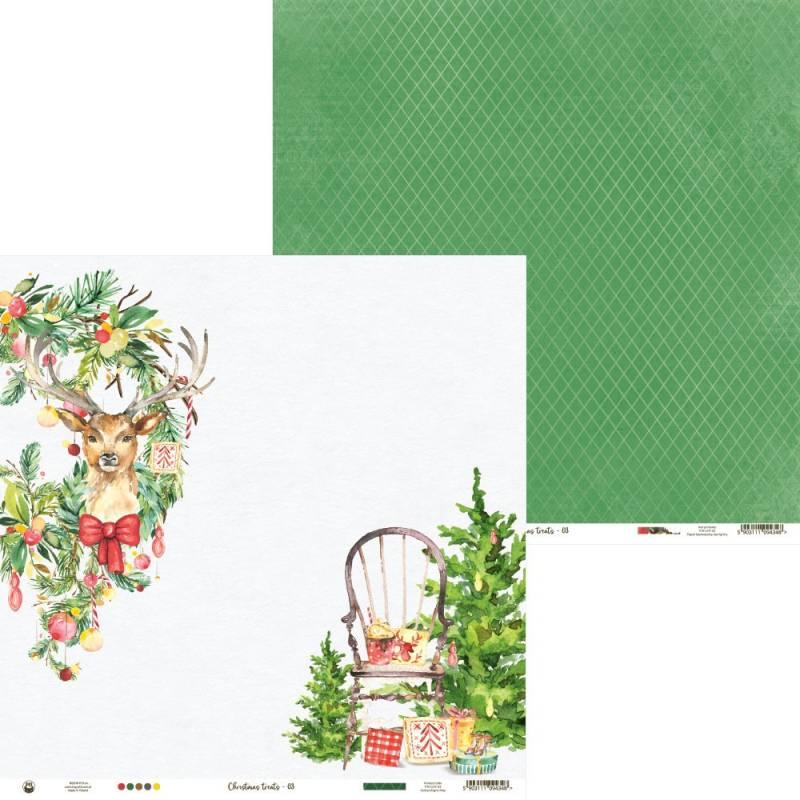 "Paper Christmas treats 03, 12x12"""
