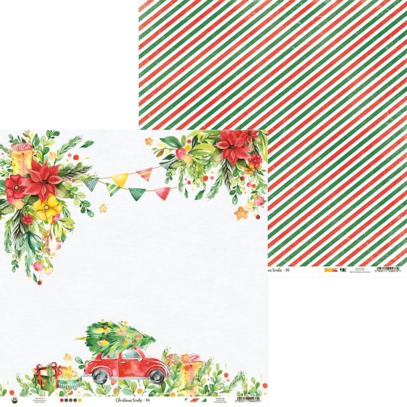 "Papier Christmas treats 06, 12x12"""