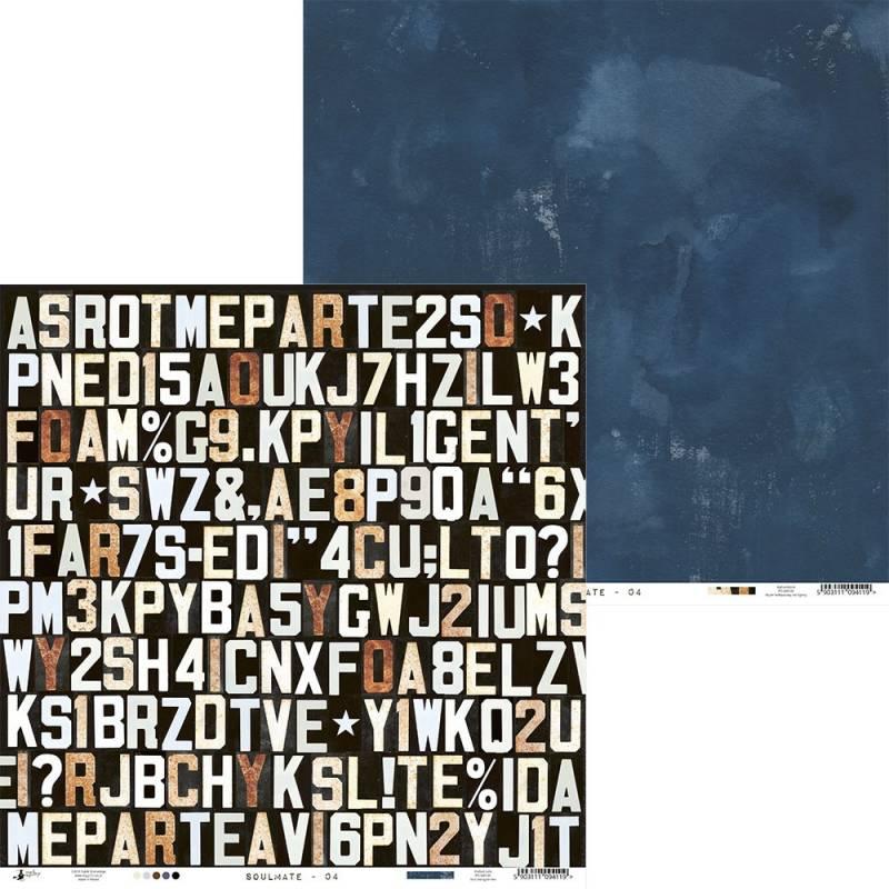 "Paper Soulmate 04, 12x12"""