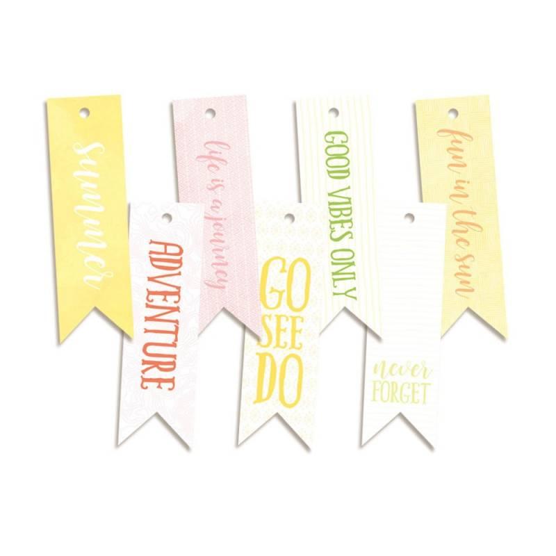 Decorative tags Sunshine 02