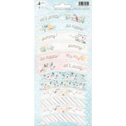 Party sticker sheet Cute & Co. 01, 10,5 x 23cm