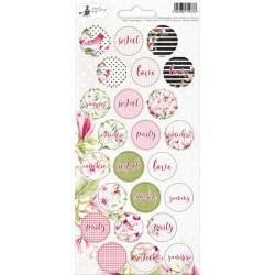 Party sticker sheet Hello Beautiful 02, 10,5 x 23cm