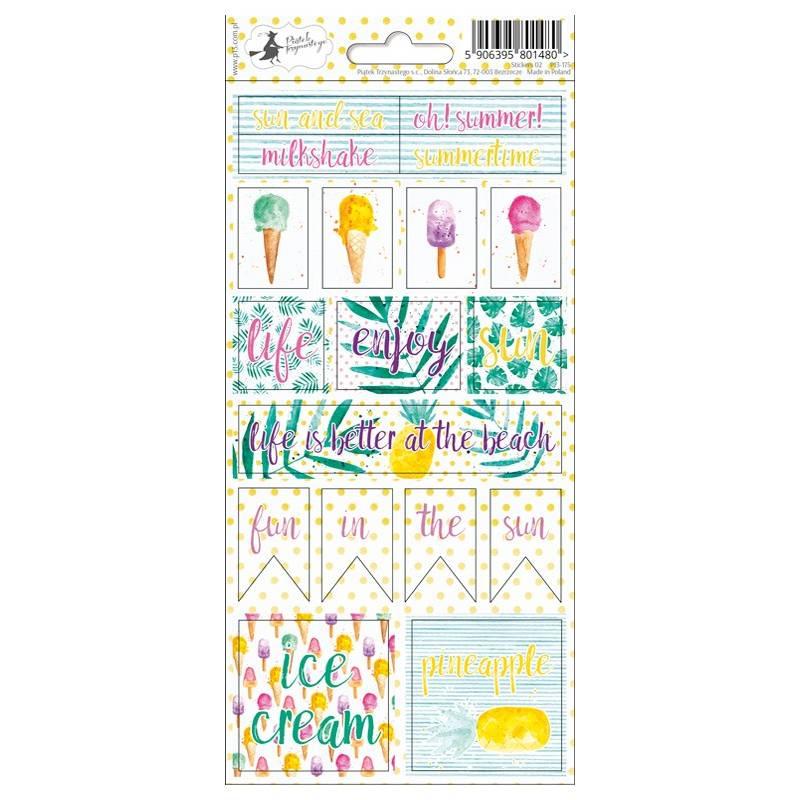 Sticker sheet Summertime 02