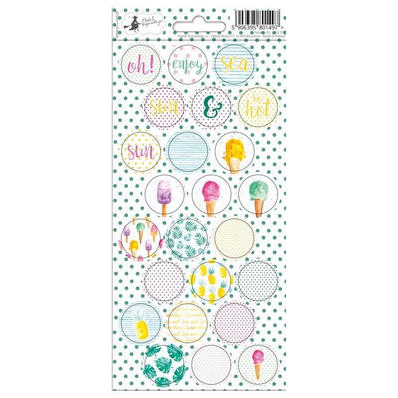 Sticker sheet Summertime 03