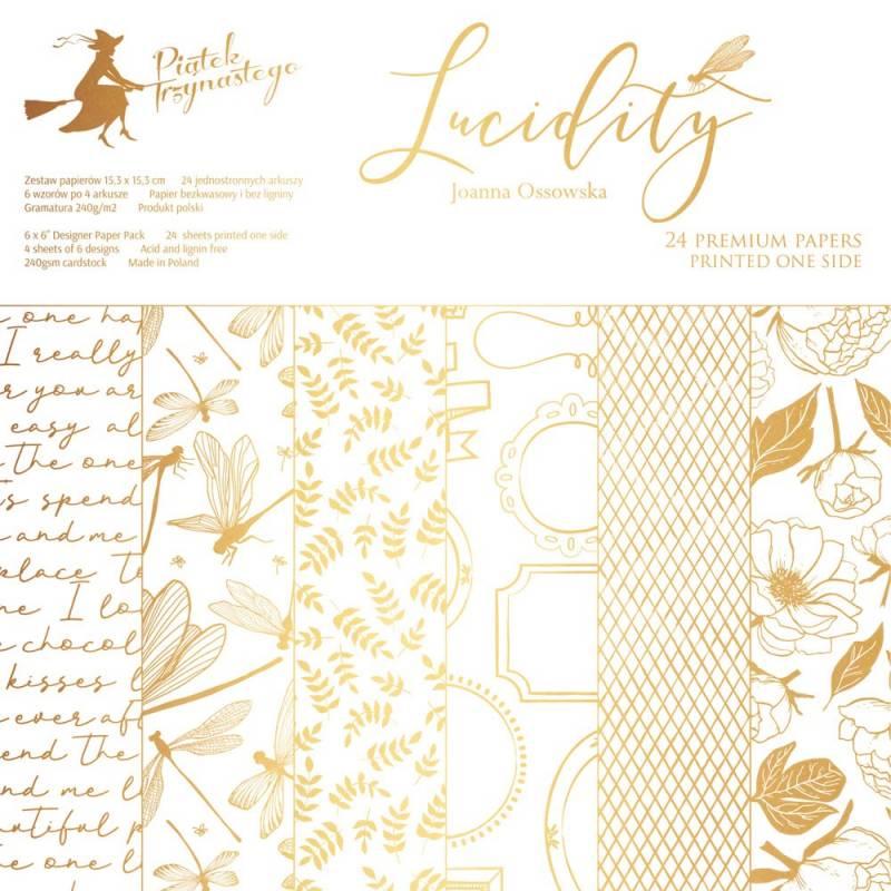 "Paper pad Lucidity, 6x6"""