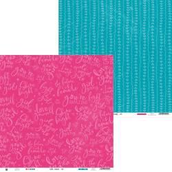 "Paper Girl Gang 03, 12x12"""