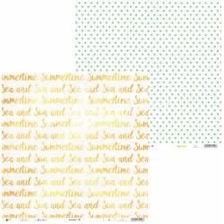 "Paper Summertime 05, 12x12"""