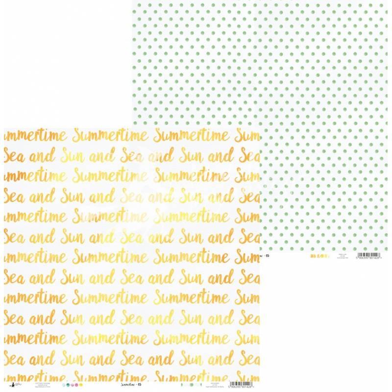 """Papier Summertime 05, 12x12"""""""