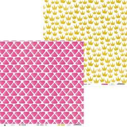 "Paper Girl Gang 04, 12x12"""