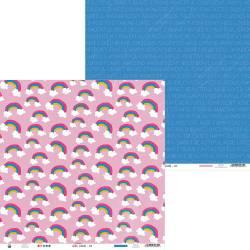 "Paper Girl Gang 06, 12x12"""