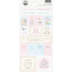 Sticker Sheet Baby Joy 02, 10,5 x 23cm