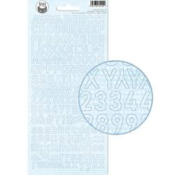 Alphabet Sticker Sheet Baby Joy 02, 10,5 x 23cm