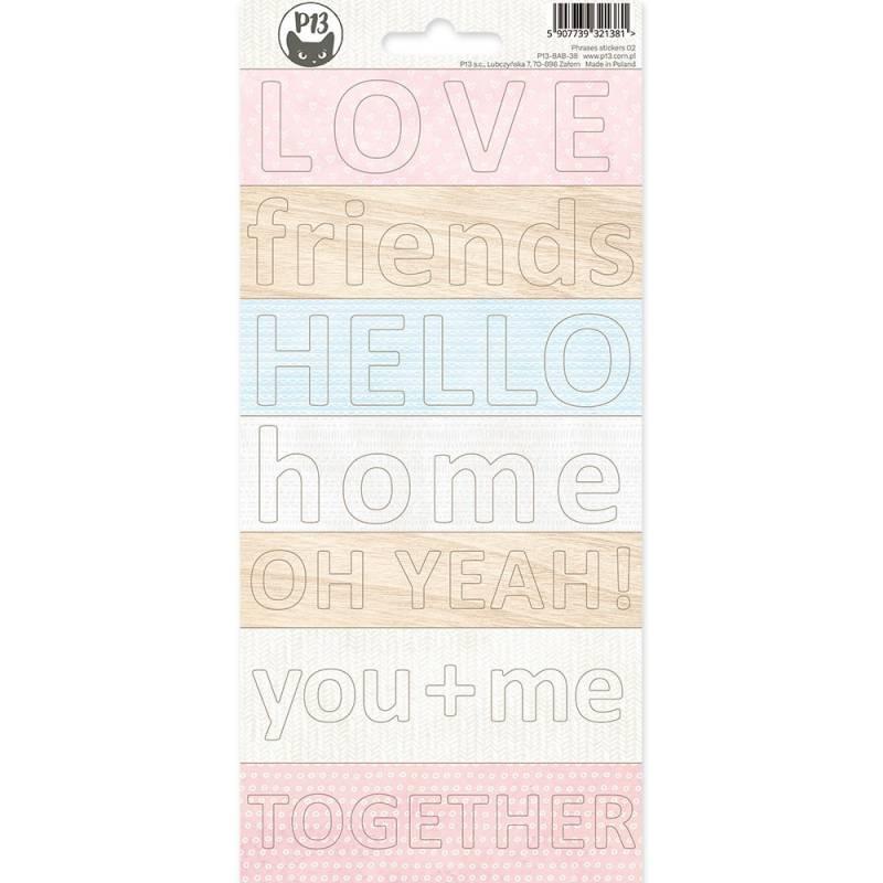 Paper sticker sheet Baby Joy 02, 10,5 x 23cm