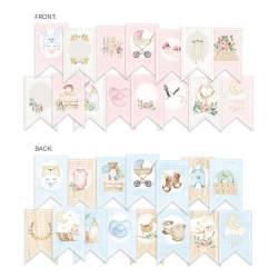 Banner/ die cut paper Baby Joy, 15 pcs.